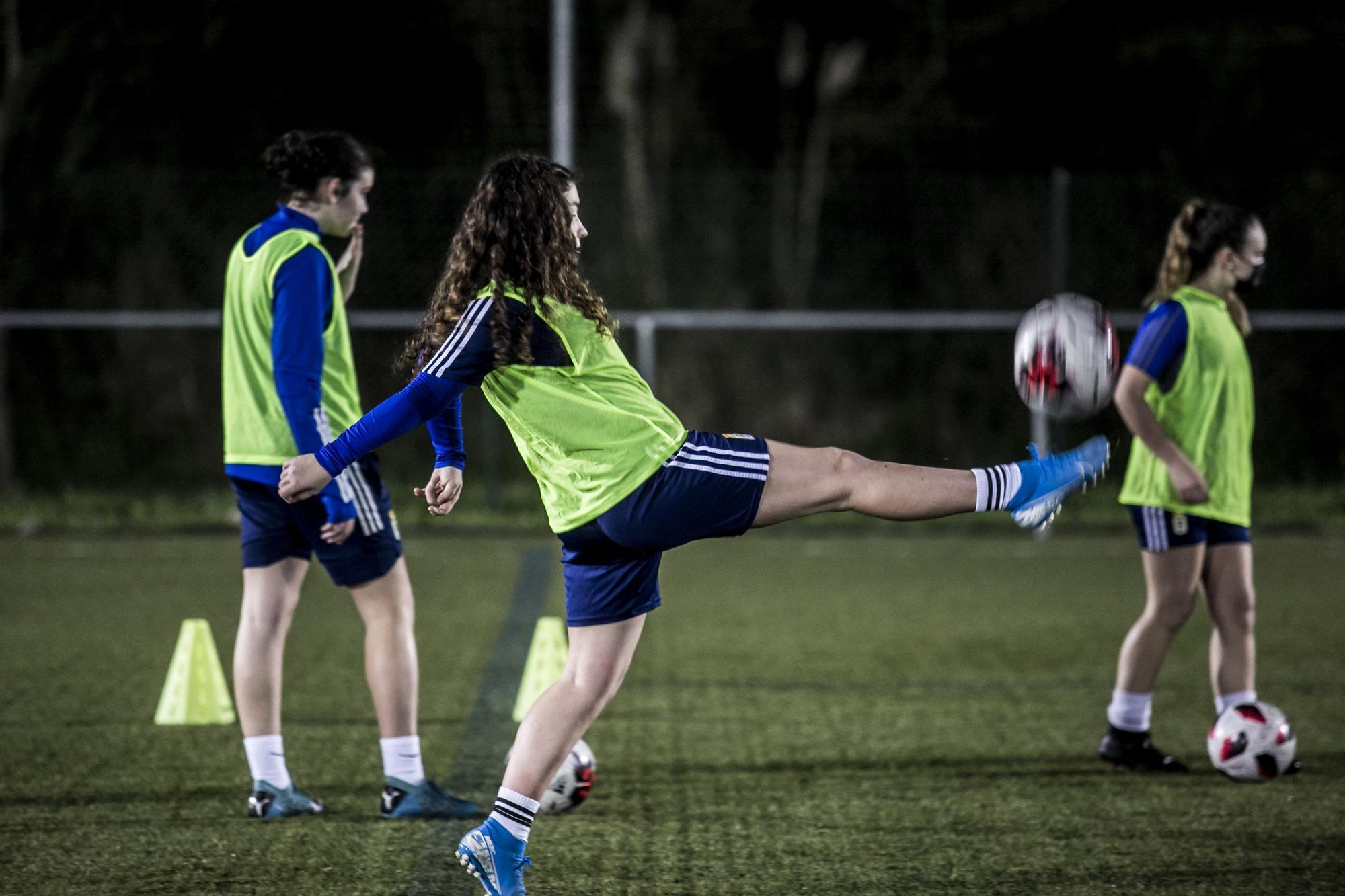 Las imágenes del Oviedo Femenino