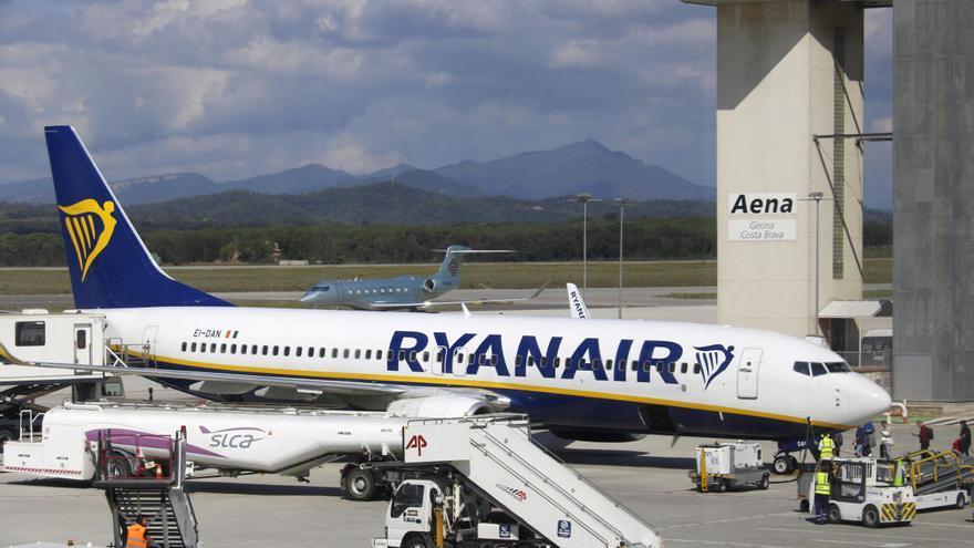 Ryanair oferirà 28 rutes a l'estiu des de l'Aeroport Girona-Costa Brava