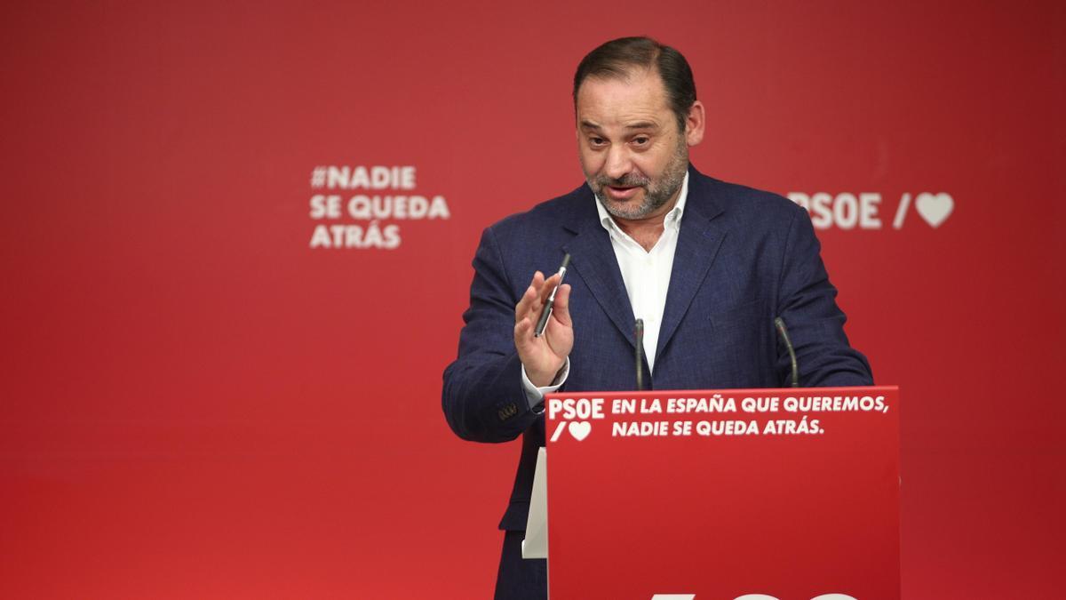 El exsecretario de Organización del PSOE, José Luis Ábalos.