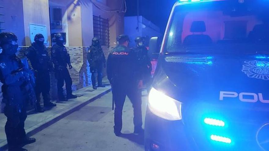 Al menos 17 detenidos en una operación antidroga en el Campo de Gibraltar