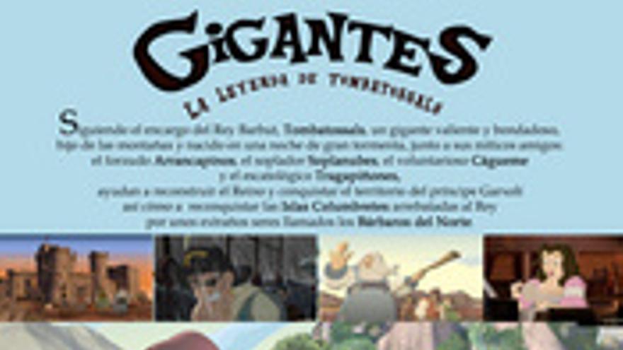 Gigantes. La Leyenda de Tombatossals