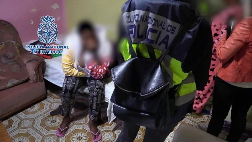 Liberadas 4 mujeres que iban a ser trasladadas a Mallorca para prostituirlas