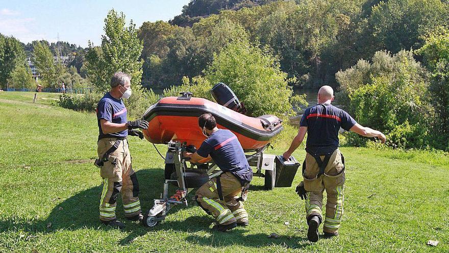 Hallan en aguas del Miño, en Oira, el cadáver de una vecina de O Vinteún, de 53 años