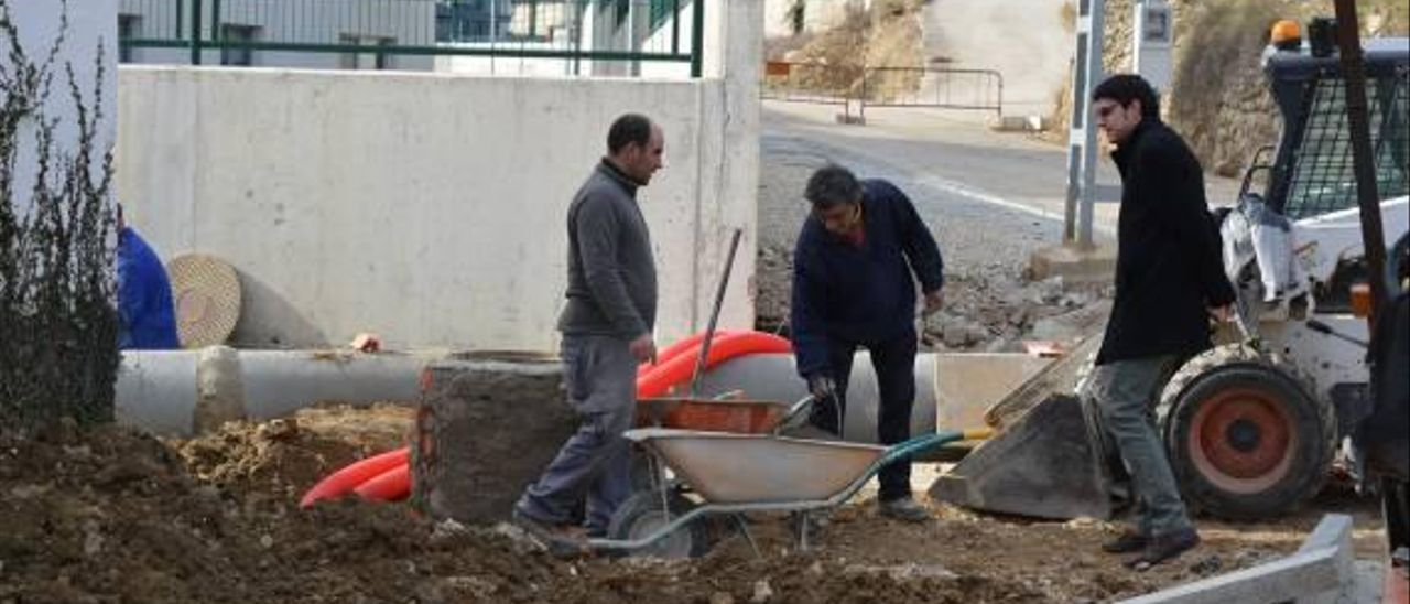 Morella resuelve los problemas de inundaciones en el barrio Hostal Nou