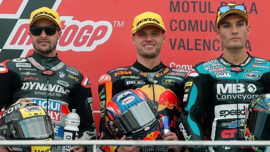 Victoria y subcampeonato para Brad Binder en Moto2