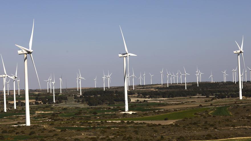 La generación eléctrica con renovables en Aragón alcanza el 120% de todo el consumo de energía