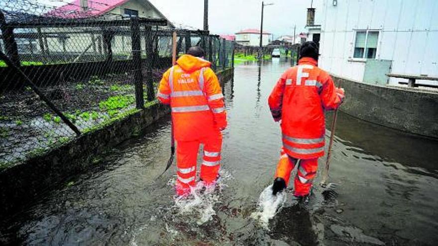 Otro millón de euros para reducir las inundaciones en Valga