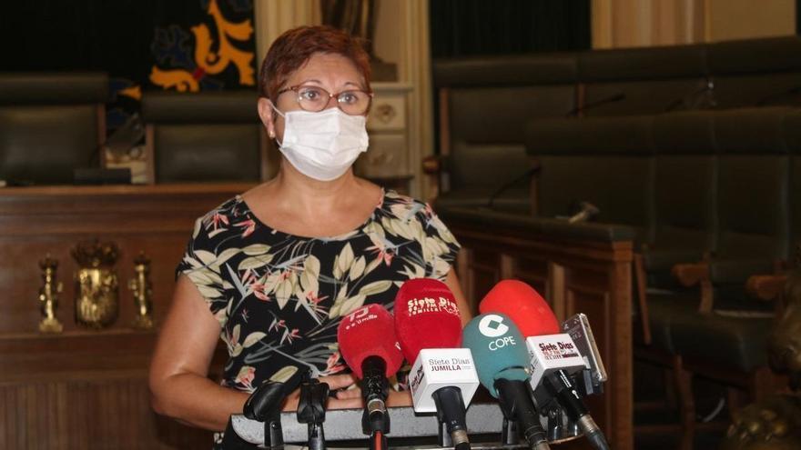 La alcaldesa de Jumilla, indignada ante un posible traslado de las vacunaciones a Yecla