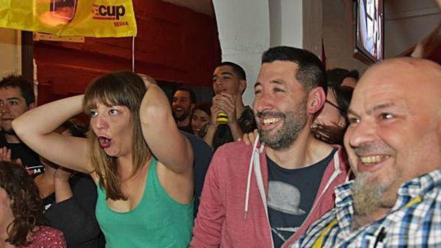 Berga esdevé una plaça forta de la CUP