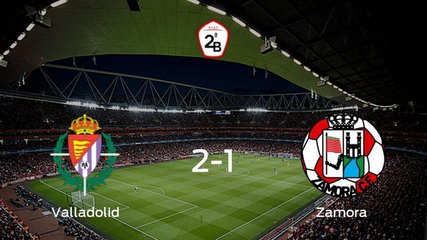 Los tres puntos se quedan en casa: Valladolid B 2-1 Zamora