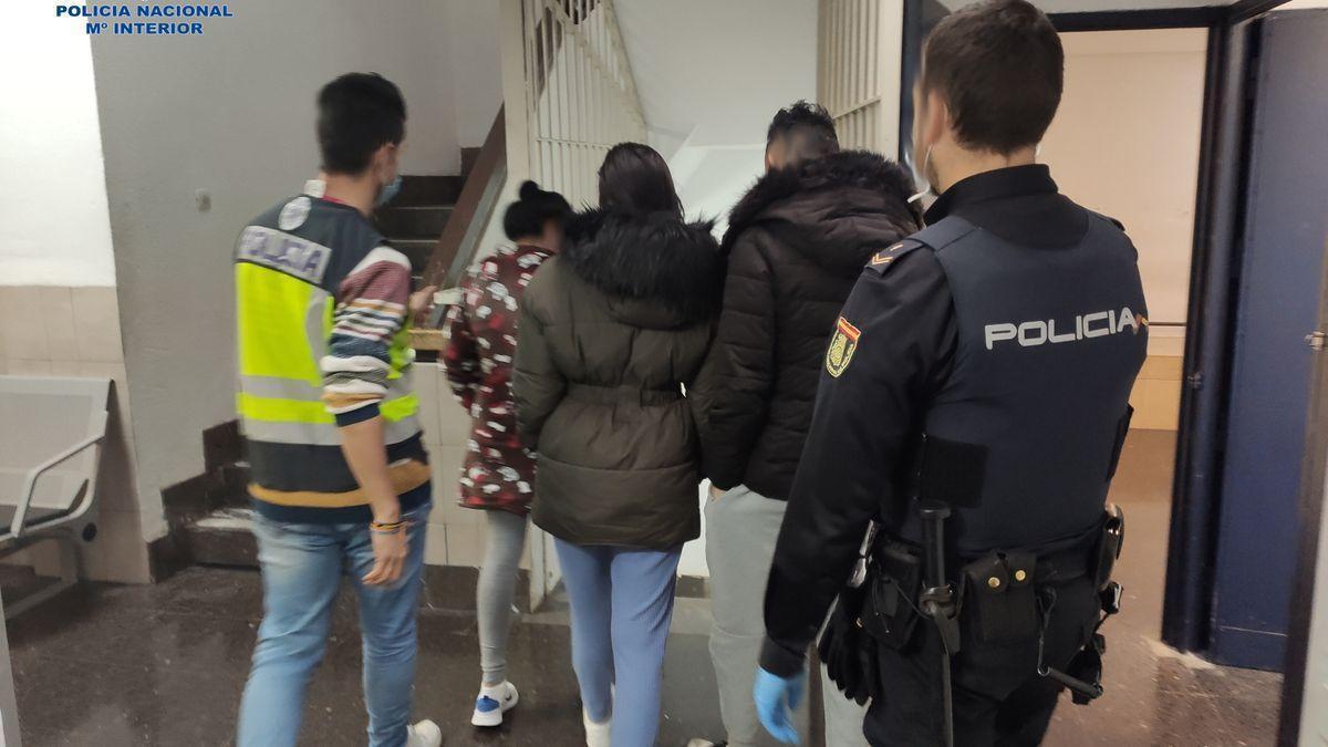 Detenidos ocho okupas por desmantelar un edificio nuevo en Palma
