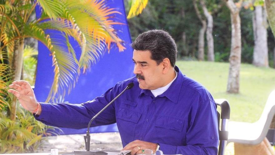 Maduro denuncia un nuevo plan para asesinarle organizado por EEUU