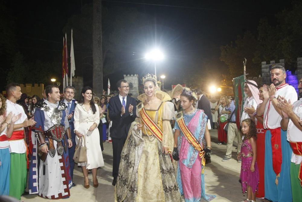 Apertura del Campamento Medieval de Moros y Cristianos en Murcia
