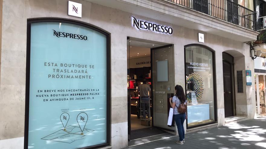 La tienda Nespresso se traslada de Unió a Jaume III