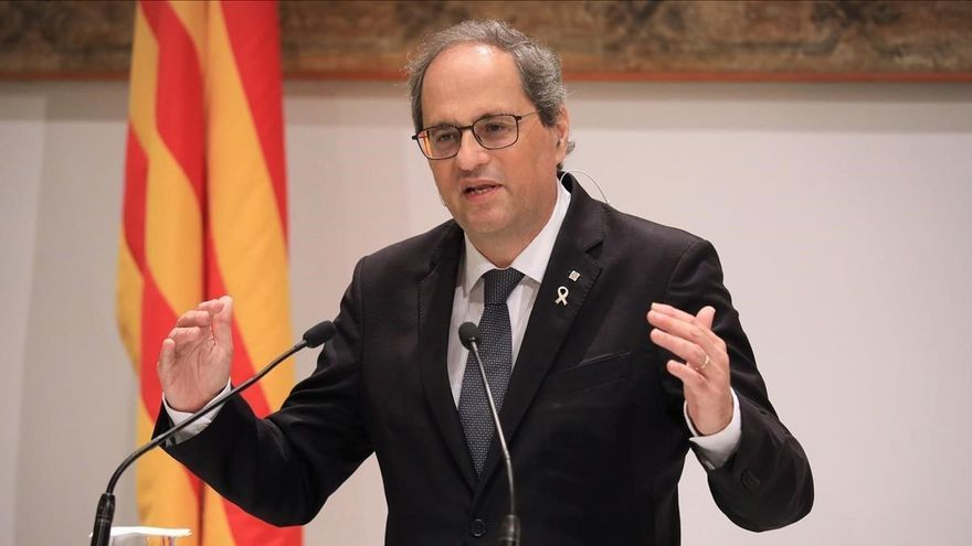 Quim Torra critica a Zapatero por su visión del proceso estatutario
