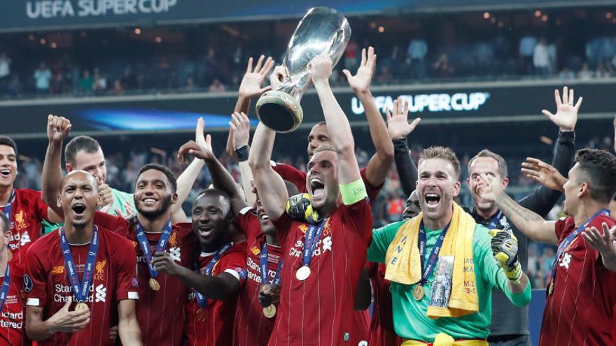 El Liverpool gana la Supercopa de Europa en los penaltis