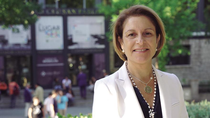 """Rosa Visiedo, rectora de CEU San Pablo: """"Nuestras aulas están abiertas"""""""