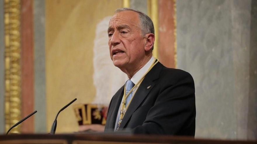 El presidente portugués, Rebelo de Sousa, positivo por Covid-19