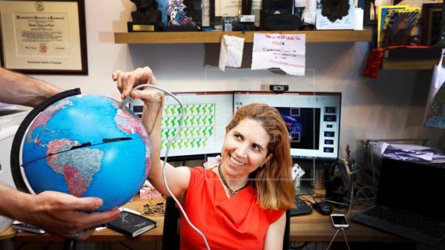 Nuria Oliver, primera española en ganar el premio Technical Leadership Abie