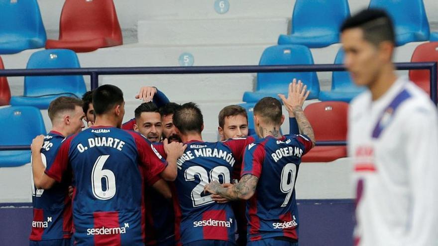El Levante remonta y logra un valioso triunfo ante el Eibar
