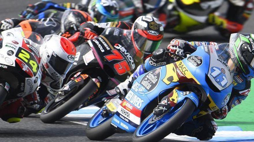 Proeza del burrianense García Dols, quinto en el GP de Japón de Moto3
