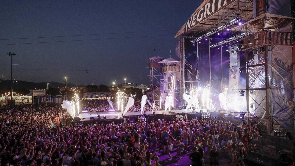 Imagen de archivo de un concierto del Reggaeton Beach Festival 2019