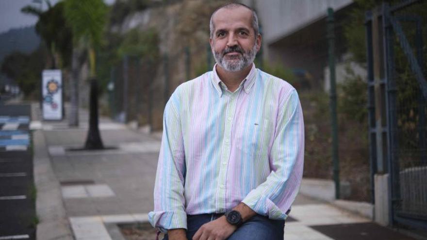 Jorge Andrés Pérez: «Pagamos 600.000 euros anuales de IBI al Ayuntamiento de Santa Úrsula y en La Quinta no se reinvierte casi nada»