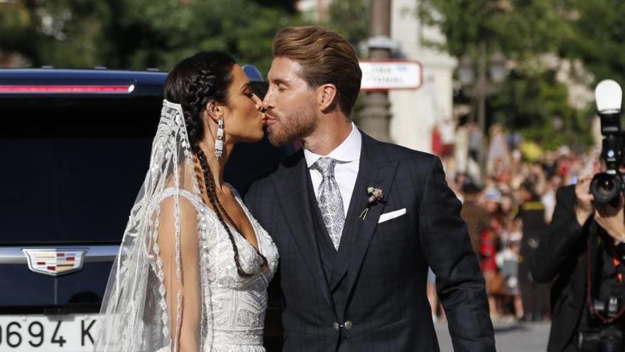 Les grans absències del casament de Sergio Ramos i Pilar Rubio