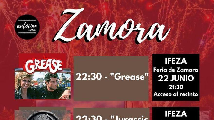 El autocine llega a Zamora: del 22 al 24 de junio en Ifeza