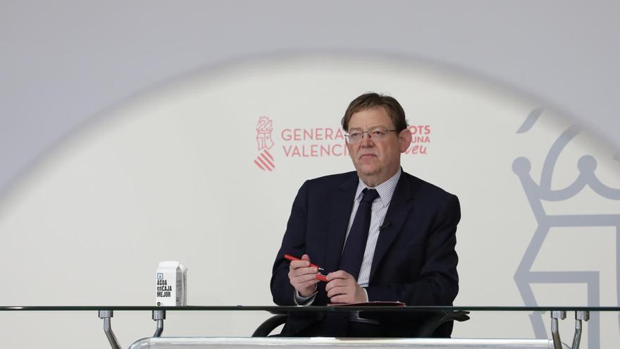 Puig pide rebajar la tensión política en la desescalada