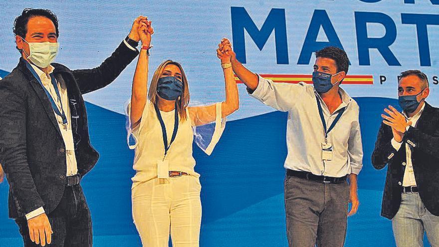 Marta Barrachina, lideresa del PP, en 'La Panderola'
