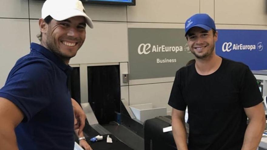Rafael Nadal viaja a Montreal en su preparación para el US Open