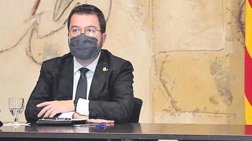 """Aragonès: """"Cataluña contiene la segunda ola tres veces más rápido que Madrid"""""""