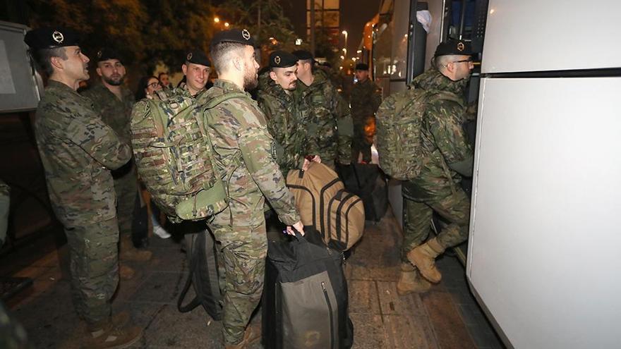 Sale para Letonia este viernes la última rotación de soldados de Cerro Muriano