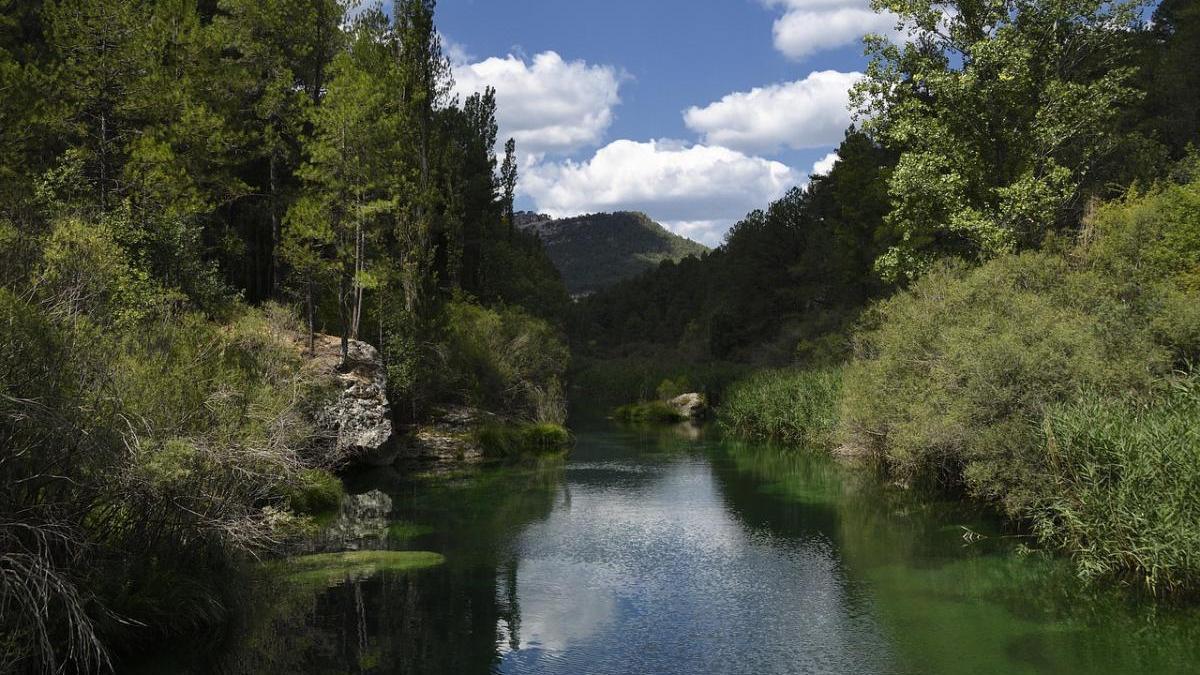 Imagen actual del Tajo cuya cuenca está al 60% de su capacidad