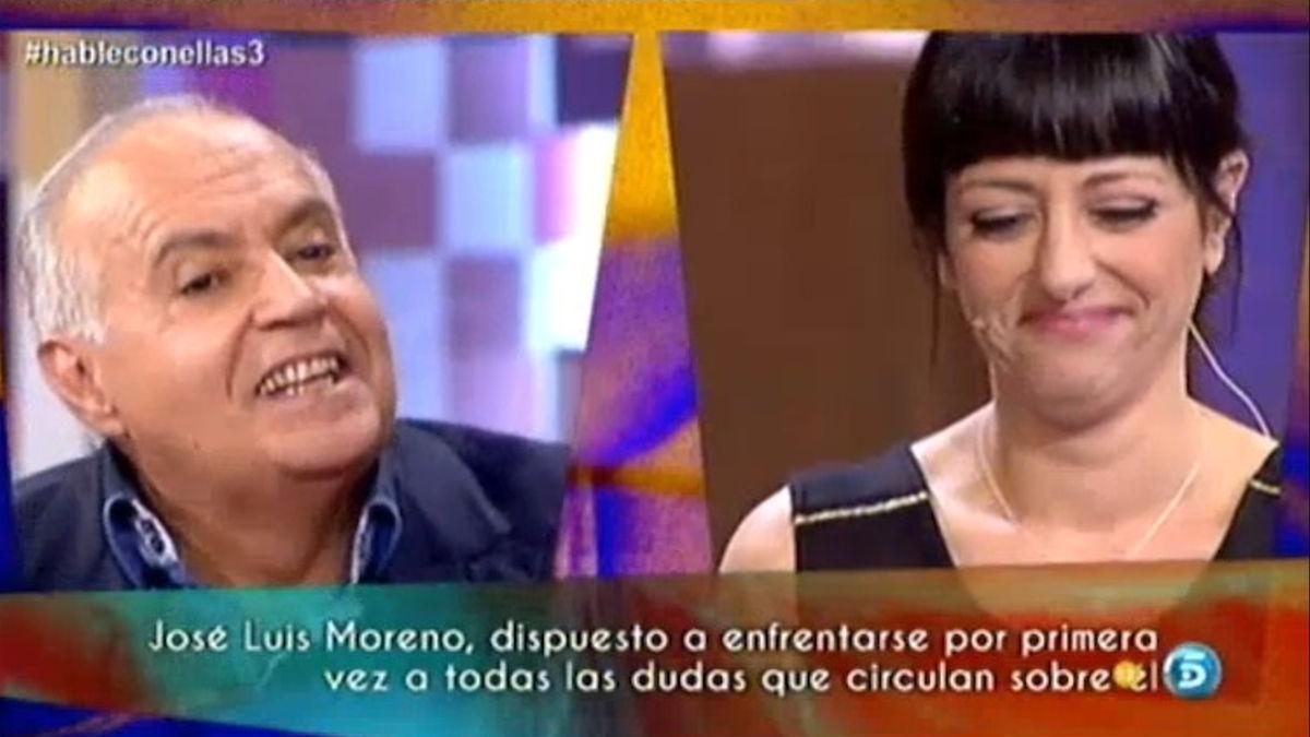 José Luis Moreno y Yolanda Ramos en 'Hable con ellas'.