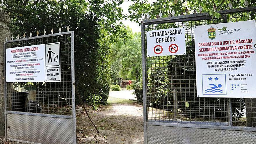 A Estrada contará con un taller de empleo dedicado en exclusiva a reformar la playa fluvial de Liñares