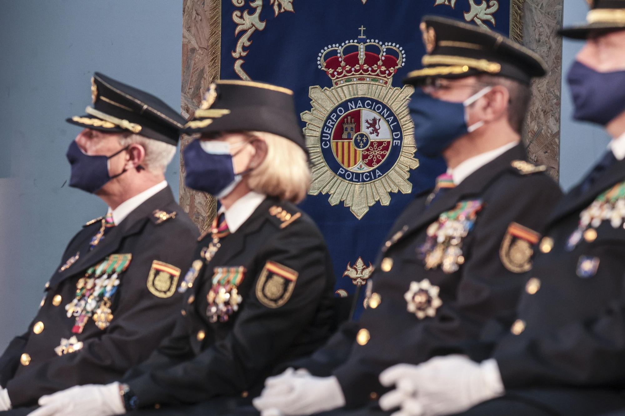 La Policía Nacional de Oviedo celebra a sus patronos, los Ángeles Custodios