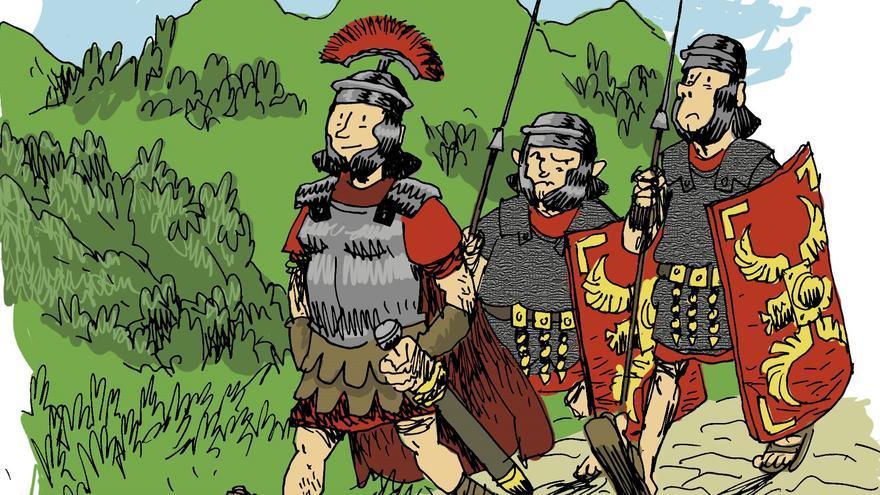 La hestoria de les llábanes romanes d'Uxo: d'Asturies a liderar la conquista d'Europa
