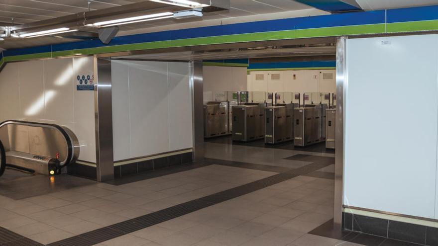 Detienen en el Metro de Madrid a un hombre que simuló portar explosivos