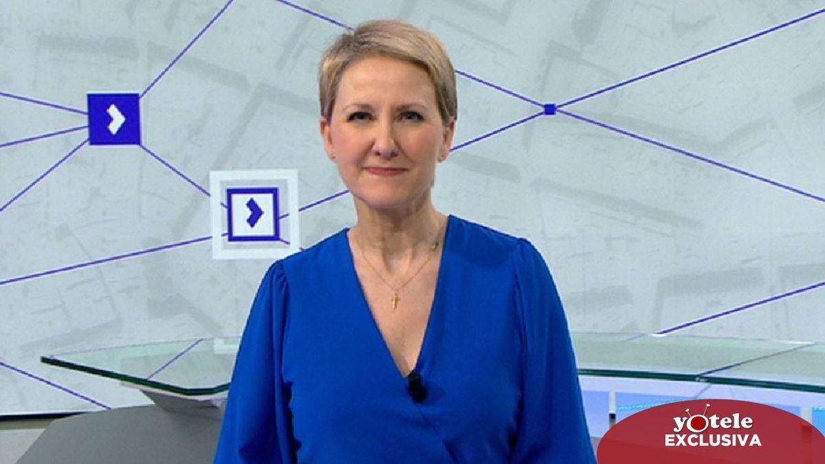 La periodista, Inmaculada Galván.