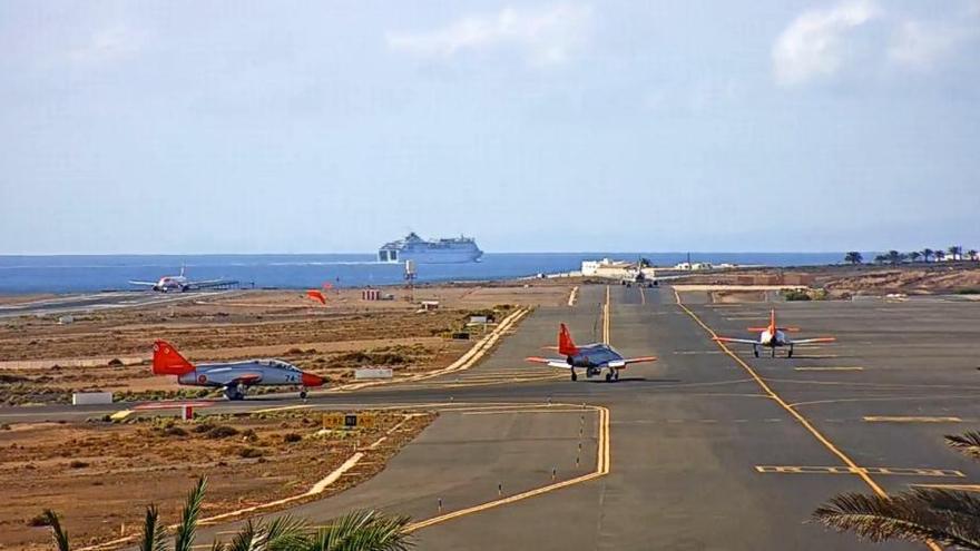 La Patrulla Águila aterriza en Lanzarote