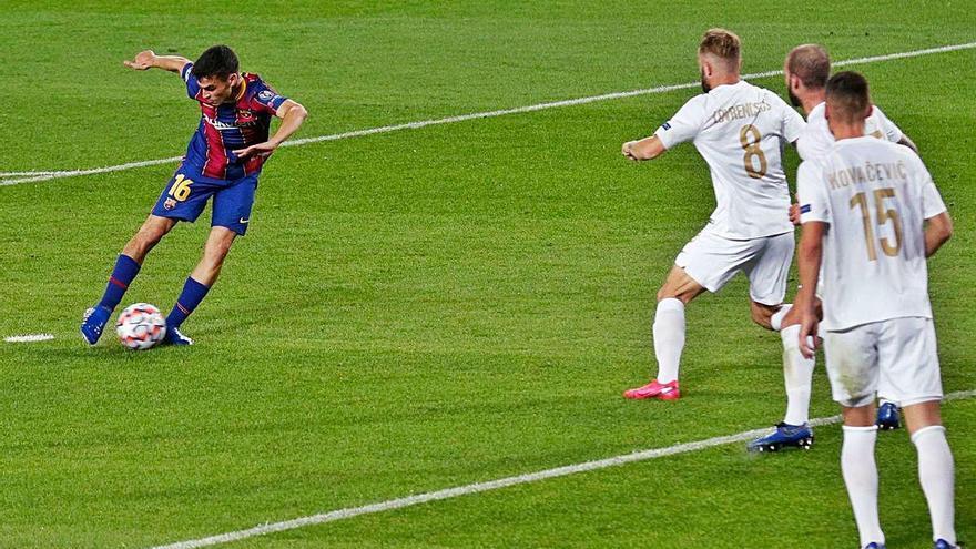 El Barça debuta amb gols però lamenta l'expulsió de Piqué
