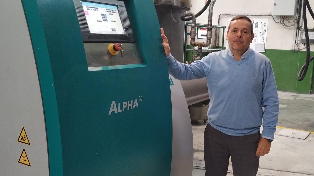 David Camila, director industrial de Industrias Proa, una de las 128 pymes que ya se han beneficiado de las ayudas Proyectos Industria 4.0 impulsadas por la Xunta de Galicia.