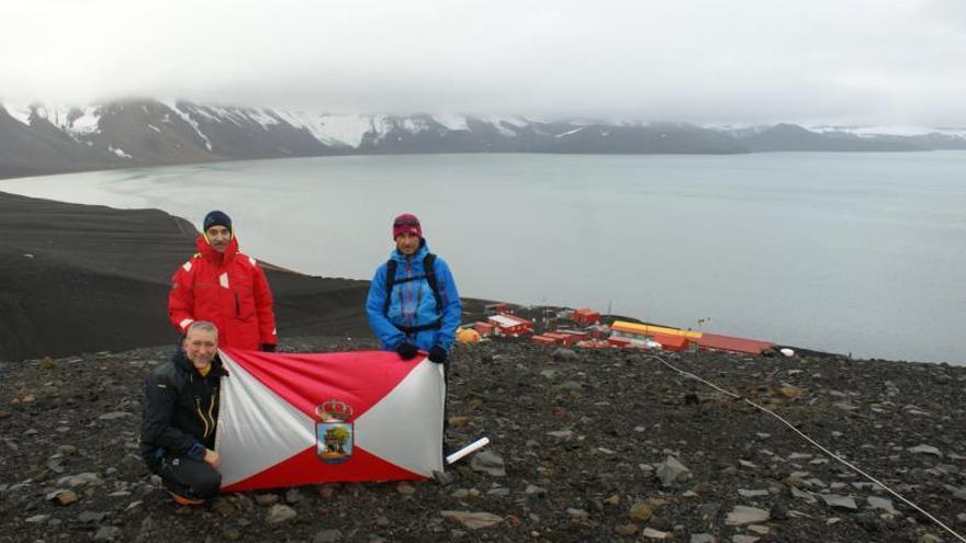 Vigo anclará su octava bandera en la Antártida