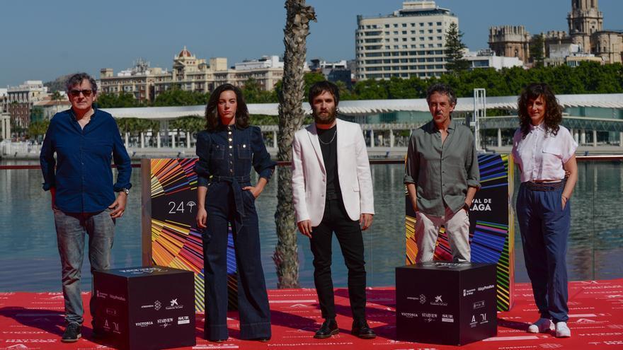 Presentación de 'El sustituto' en el Festival de Cine de Málaga