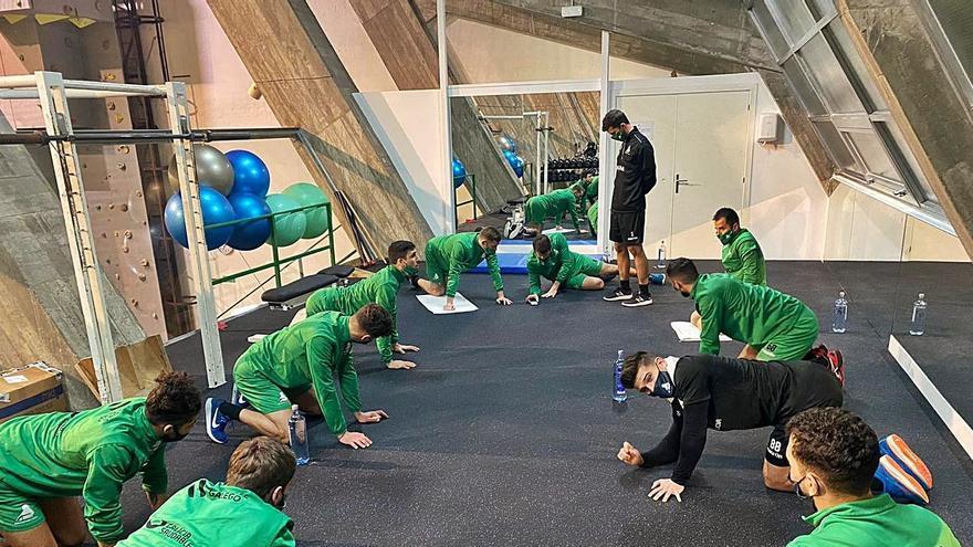 Vuelta al trabajo del equipo verdiblanco