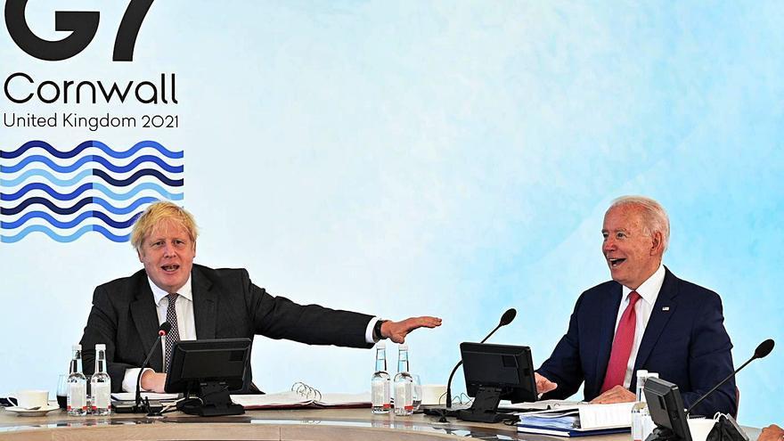 Boris Johnson i la crisi d'Irlanda del Nord alteren l'ordre del G7