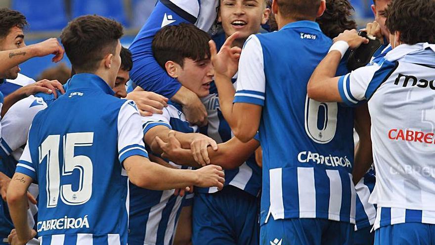 Las Palmas, rival del Juvenil del Dépor en la Copa de Campeones