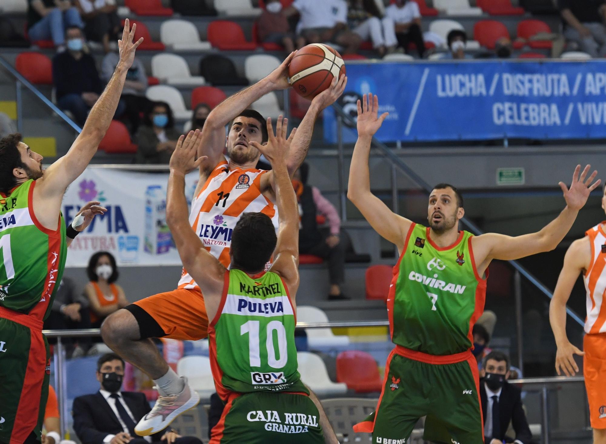 El Leyma cae 82-85 ante el Granada